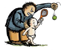 тенис деца тренировки упражнения